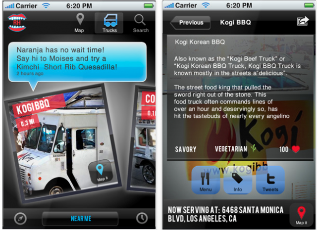 Roaming Hunger V1.0: Finding A Trustworthy Food Truck Has Never Been Easier