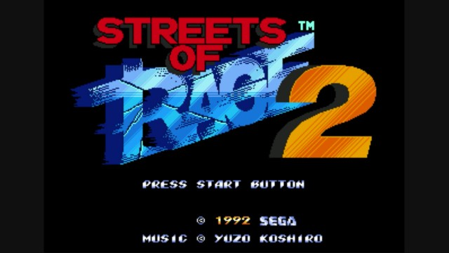 Streets Of Rage 2: Another Classic SEGA Game, Available To Download Now!