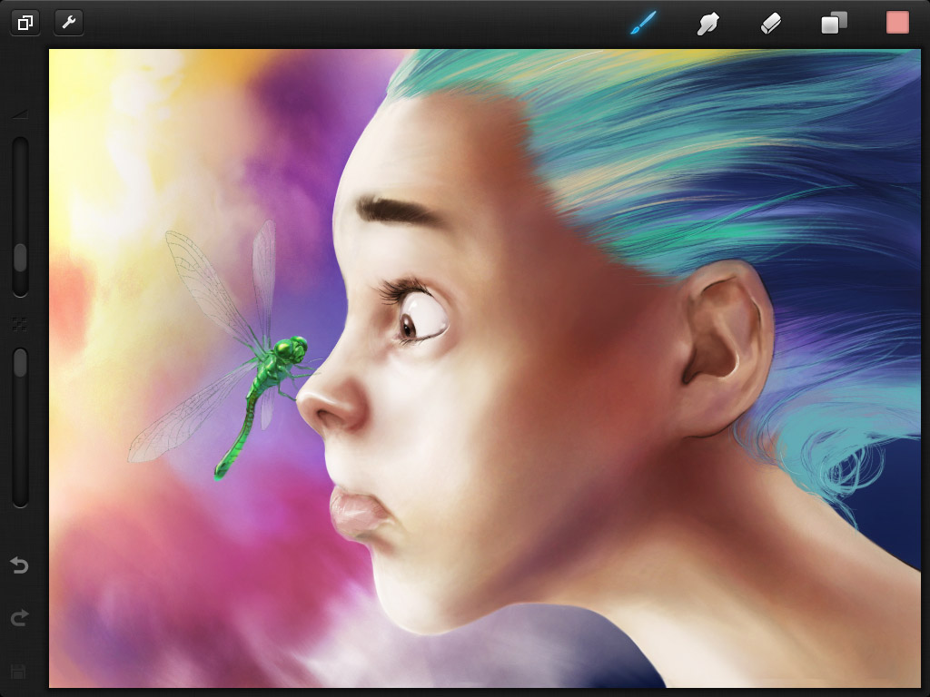 Win A Free Iphone 6 >> Move Over Brushes, Get Creative with Procreate. Win A Copy ...