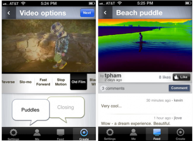 Vlix: Instagram Meets Vimeo? - Coming Soon!