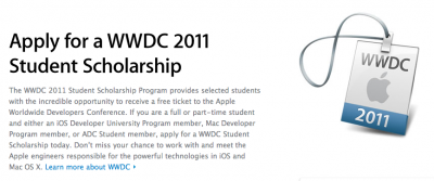 Student Scholarship Applications For WWDC: Apply Now - But Only If You're Good Enough