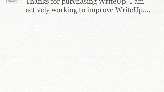 WriteUp - A Full Featured Dropbox Text Editor For Your iPhone and iPad
