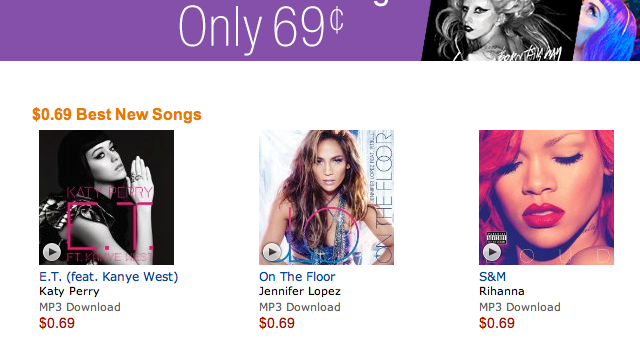 It's War: Amazon Drops Price Of New Song Downloads; Will Apple Follow?