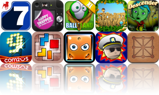 iOS Apps Gone Free: Drop7, Happy Snapper, Balliland XL, And More