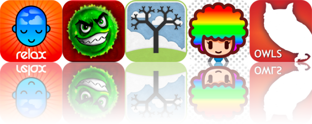 iOS Apps Gone Free: Relax With Andrew Johnson, Immuno, Geom-e-Twee, And More