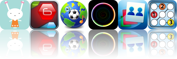 iOS Apps Gone Free: Busy Bunnies, Symbol6 RDX HD, Sports Radio - iPad Edition, And More