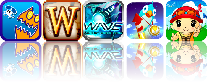 iOS Apps Gone Free: Bird Strike, Professor Wordington's Spellatorium, Wave, And More