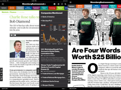 Bloomsberg Businessweek+ Arrives On iPad Along With Terrific Subscription Offer