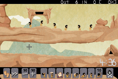 Caveman: Lemmings Spinoff Lands On The App Store