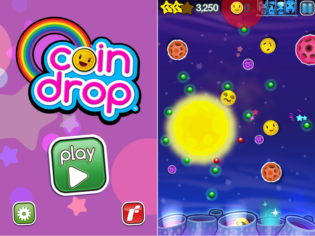 Coin Drop: An Addictive Puzzler Full Of UFOs, Lasers, Pins, Suns, And Bad Pennies