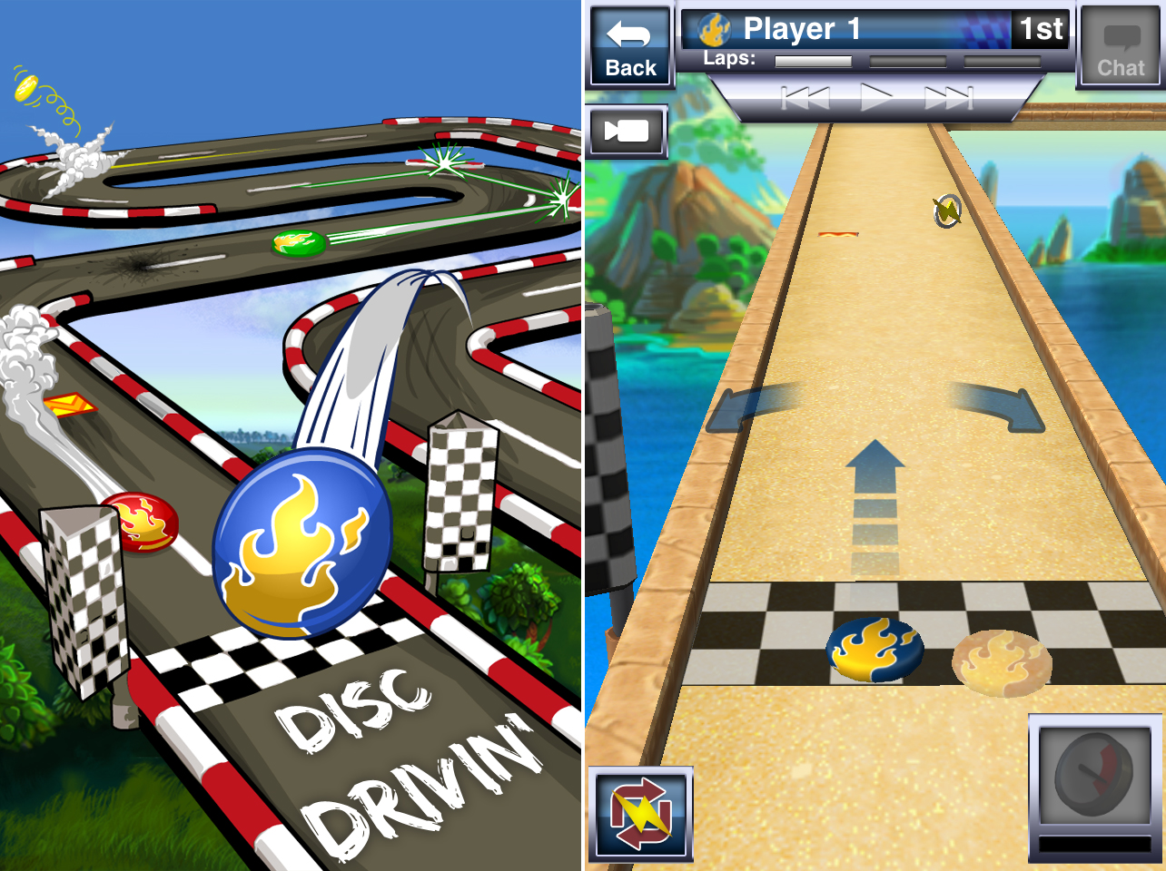 Disc Drivin' Updated With New Courses And Enhanced Graphics