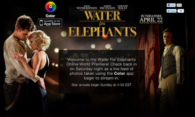 Color App Goes Hollywood With Its First Big Promotion