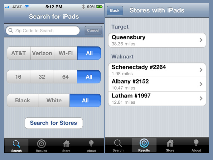 An iPhone App That Helps You Find An iPad 2