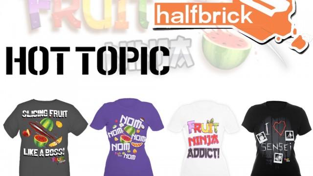 Help Promote Fruit Awareness: Hot Topic Offers Up Fruit Ninja Tees