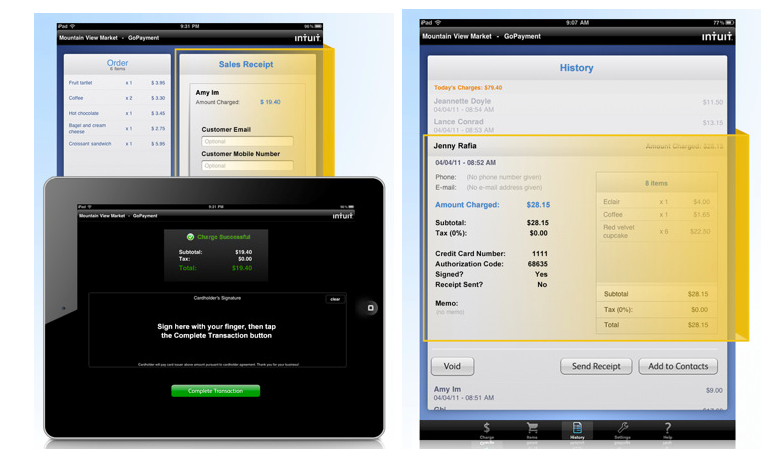 Intuit's GoPayment App Goes Universal, Takes On Square