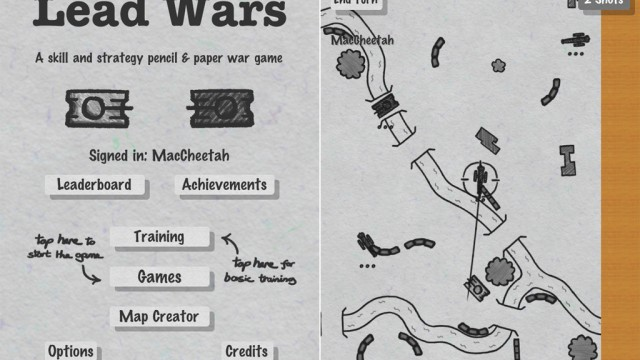 Lead Wars Updated With Single Player, Map Creator, And Further Improvements