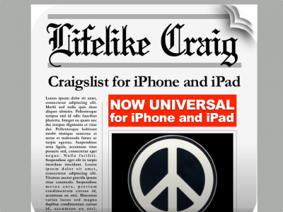 Lifelike Craig HD Version 2.0 Is Out, Goes Universal