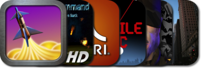 New AppGuide: Missile Command For iPad