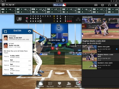 The Latest MLB.com At Bat 11 For iPad Provides Video Out, Plus A Couple Improvements