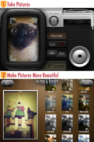 Stitch Pictures Together With Halfcamera
