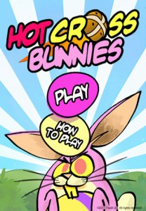 Shoot Eggs Out Of The Sky With Hot Cross Bunnies