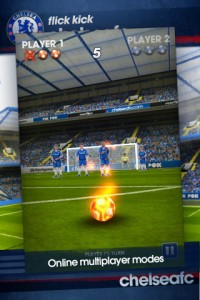 Flick Kick Chelsea by PikPok screenshot