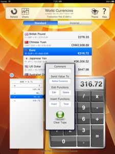 Currency+ (Currency Exchange Rates Converter) by Jump Gap Software screenshot
