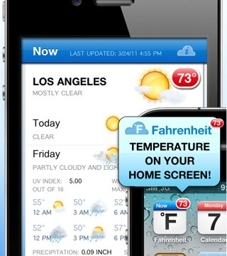 Live Weather Updates Right On Your Home Screen