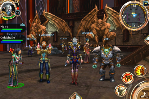 Gameloft's WOW-Like Order & Chaos MMORPG Rolls Out In The Store