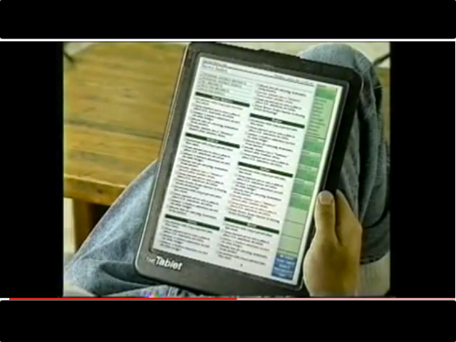Was The iPad Predicted In 1994? (Video)