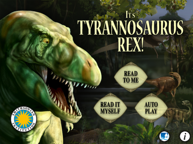 It's Tyrannosaurus Rex! Stomps Into The App Store