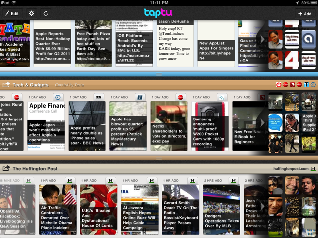 Tap Into Your Favorite Stream With Taptu
