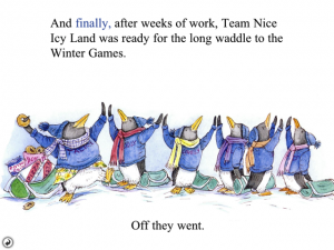 Tacky and the Winter Games by Oceanhouse Media screenshot