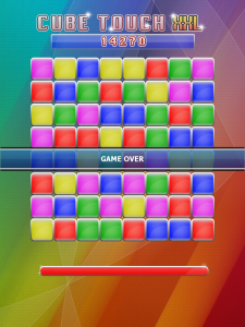 Cube Touch XXL by Lunagames screenshot