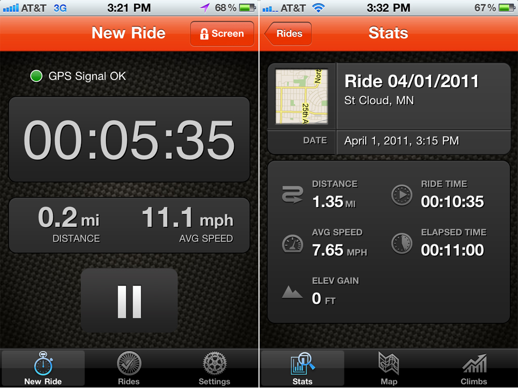 Strava Cycling For iPhone: Become The Cyclist King Or Queen Of The Mountain