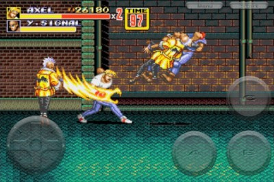 Sega Releases Retro Fighter Streets Of Rage 3 For iPhone