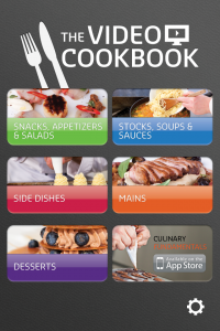 The Pro Chefs Show You How It's Done In The Video Cookbook