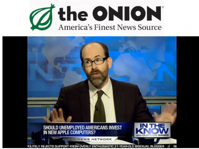 The Onion: Why The Unemployed Need An iPad Too (Funny Video)