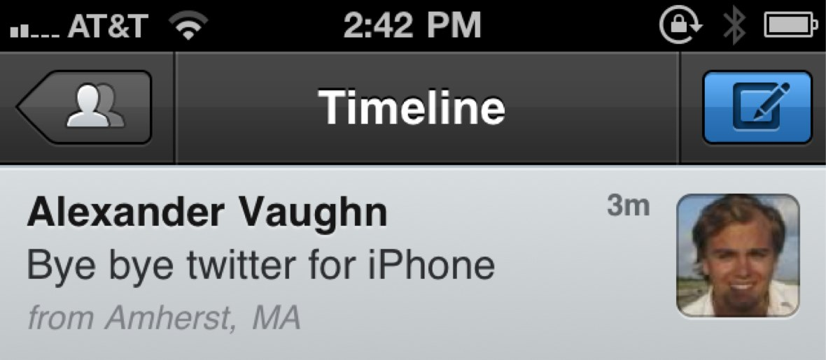 First Look At Tweetbot - The Twitter For iPhone Killer