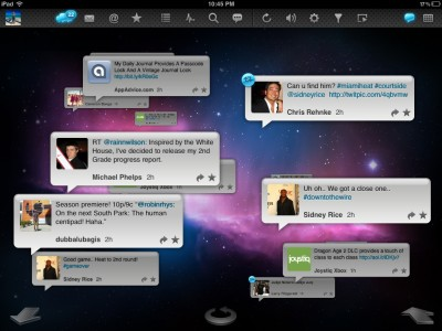 TweetyPop For iPad: See The Twitterverse In A New Dimension