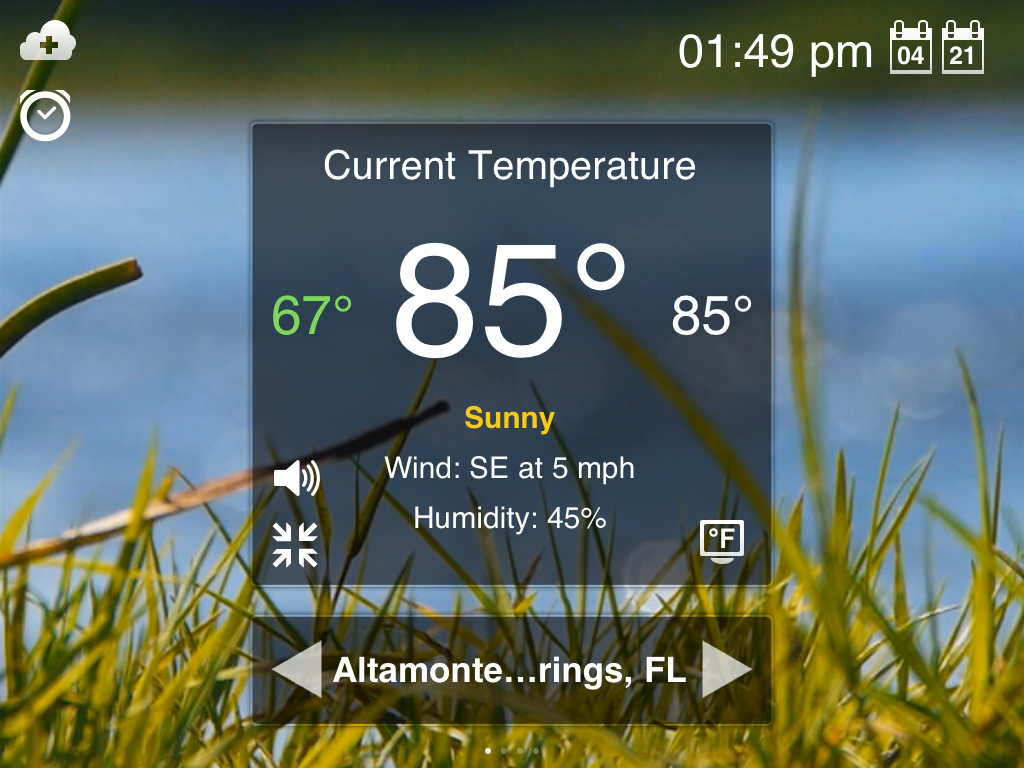 Weather Motion HD: See And Hear The Weather Indoors Before Heading Outdoors