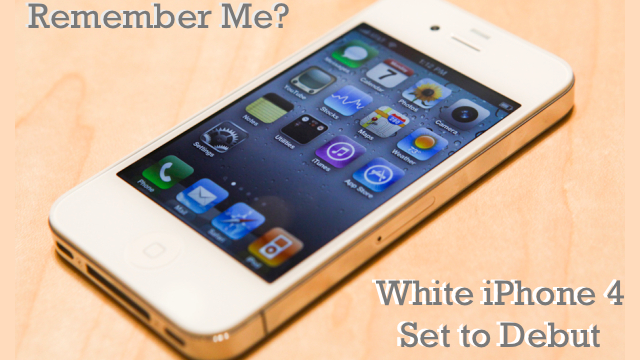 The White iPhone: Why Now? [Updated]
