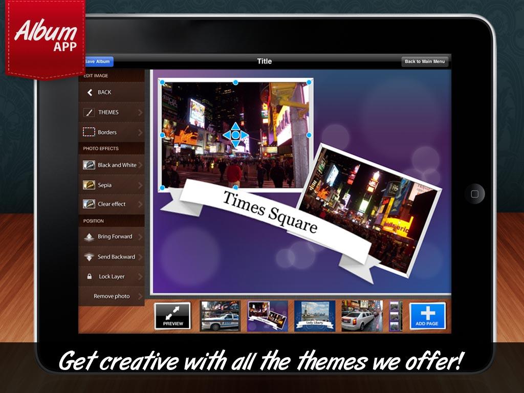 Album App Makes Digital Photo Books Easy To Do