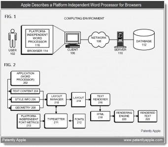 Apple Patent: A Cross-Platform Word Processor?