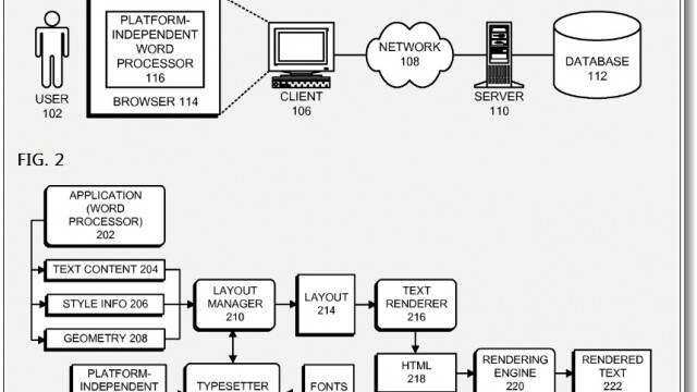 Apple Patent: A Cross-Platform Word Processor?