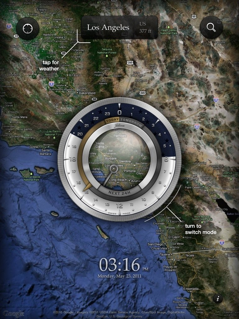 Aelios Weather Reinvents The Forecast On Your iPad