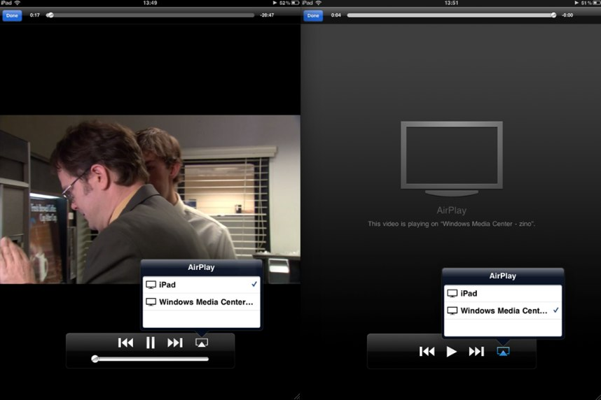 Microsoft Fans: AirPlay For Windows Media Center Available Now