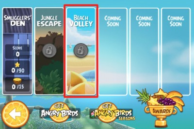Angry Birds Rio Updated: Adds A New Level - Beach Volley!