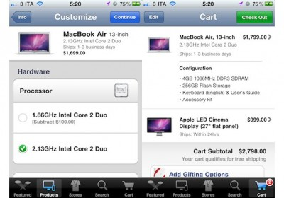 Apple Store App Updated: Adds Custom Configure For New Macs & Improved In-Store Services