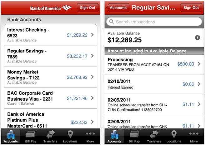 bank of america money network account